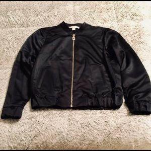 Comfortable petite black Michael Kors jacket XS